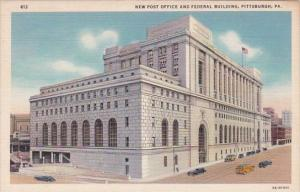Pennsylvania Pittsburgh New Post Office and Federal Building Curteich