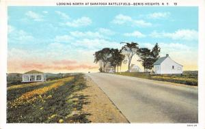 Bemis Heights New York~Saratoga Battlefield (Northern View)~Generals HQ Bldgs20s