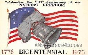 American Bicentennial 1776-1976 Patriotic Unused