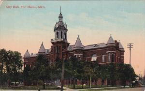 PORT HURON , Michigan , PU-1910 ; City Hall #2