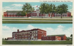BAY CITY , Michigan, 1930-40s ; T.L.Handy Junior High School