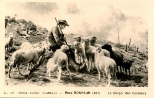 France - Chantilly. Museum Conde, Shepherd of the Pyrenees by Ros Bonheur