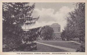 New York Poughkeepsie Vassar College The Quadrangle Albertype