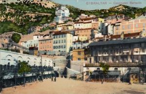 Casemates Barracks, Gibraltar, 1900-1910s