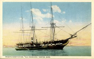MA - Boston. Frigate Constitution, Old Ironsides