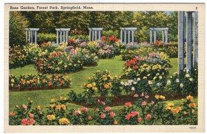 Springfield, Mass, Rose Garden, Forest Park