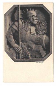 Military General Soldier Heinz Schiesil Leo Stainer Innsbruck Art Postcard