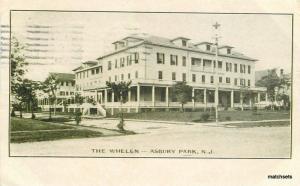 Asbury Park New Jersey 1906 Whelen Hotel undivided postcard 9447