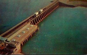 Tennessee Aerial View Kentucky Dam Near Gilbertsville