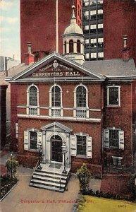 Carpenter's Hall  Philadelphia, Pennsylvania PA