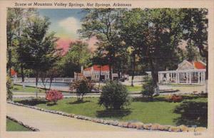 Arkansas Hot Springs Scene At Mountain Valley Springs