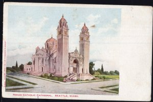 Washington Roman Catholic Cathedral SEATTLE Und/B Vintage