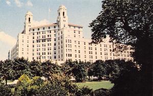 Hot Springs National Park Arkansas~Arlington Hotel~1960 Postcard