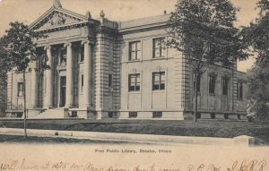 DECATUR , Illinois , 1907 ; Free Public Library