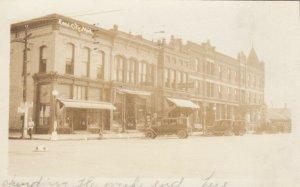 RP: REED CITY , Michigan , 1928 ; Main Street