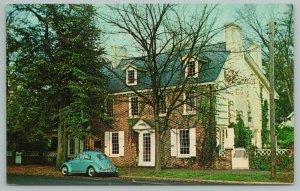 Dover Delaware~Ridgely House On The Green~Standard Chrome Postcard