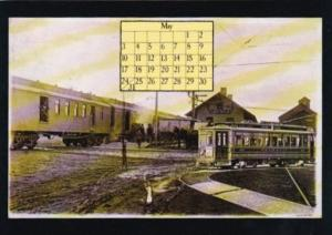 1987 Calender Series May From Postcard Collector Magazine