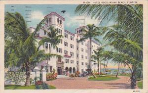 Florida Miami Beach Hotel Good 1936