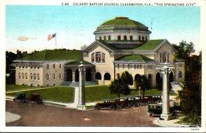 Florida Clearwater Cavalry Baptist Church 1938 Curteich