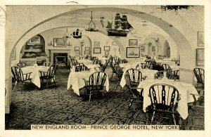 NY - New York City. Prince George Hotel, New England Room