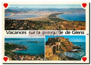 Modern Postcard The French Riviera Var Giens peninsula