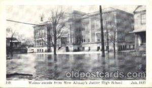 New Albany, Indiana, IN, USA Flood Junior High School, Jan. 1937 Disaster, Wr...