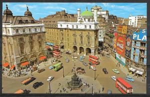England, London, Piccadilly Circus, unused