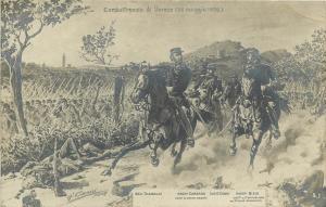 Combattimento di Varese by Quinto Cenni 1907 General Garibaldi Carrano cavalry