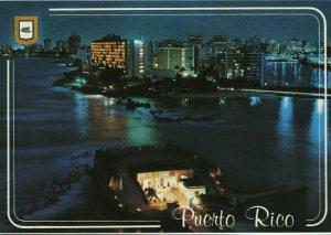 Vintage Postcard- San Juan, Puerto Rico (Fort San Jeronimo)