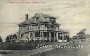 Harold Lawton Residence