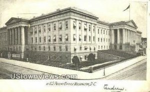 US Patent Office, District Of Columbia