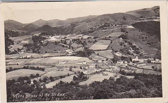 Spain Vista general de Urdaux 1950 Photo