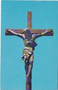 Michigan Indian River Catholic Shrine Largest Crucifix In The World 1960
