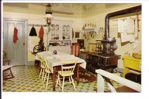 Interior Kitchen, Woodside National Historic Park, Kitchener, Ontario, Prime ...