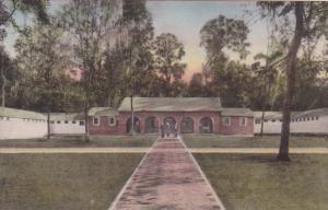 Florida Wakulla Springs The Bathhouse 1944 Handcolored Albertype
