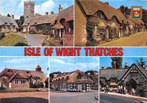 Isle of Wight Thatches Godshill Brighstone St. Agnes Church Freshwater Ryde