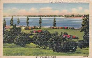 Minnesota Minneapolis Lake Nokomis ParkCity Of Lakes And Parks 1942