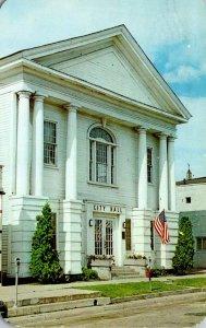 Michigan Paw Paw City Hall 1961