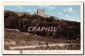 Old Postcard Corsica Corsica Vizzavona The high mountain pass