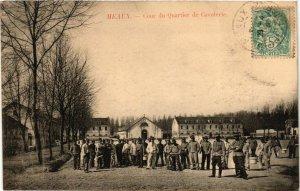 CPA MEAUX - Cour du Quartier du Cavaliere (292776)