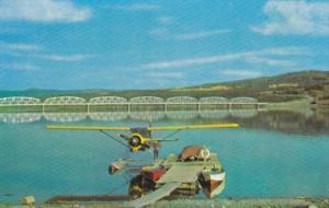 Airplane , Nisutlin Bay Bridge, Teslin , Y.T. Canada , Mile 804 , Alaska High...