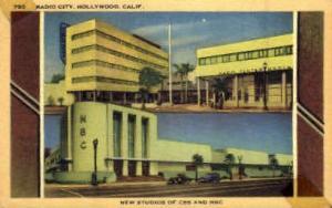 Radio City, New Studios of CBS and NBS