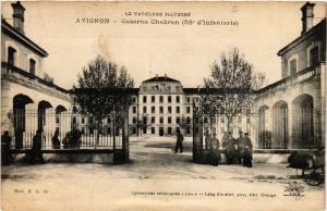 CPA Le VAUCLUSE Ill...-AVIGNON - Caserne Chabran (58* d'Infanterie) (511624)