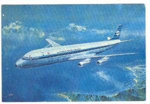 KLM Airlines DC-8 Jet Airplane  , 1960s