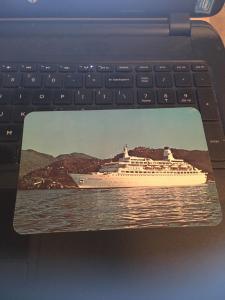 Vintage Postcard: Princess Cruises, Pacific Princess