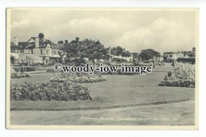 tq1954 - Essex - Marine Parade Gardens at Leigh-on-Sea - Postcard