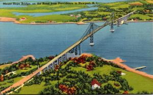 Rhode Island Newport Mount Hope Bridge
