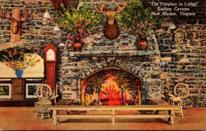 Virginia New Market Endless Caverns Fireplace In The Lodge