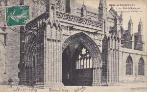France Dol de Bretagne La Porche de la Cathedrale cote Sud 1918