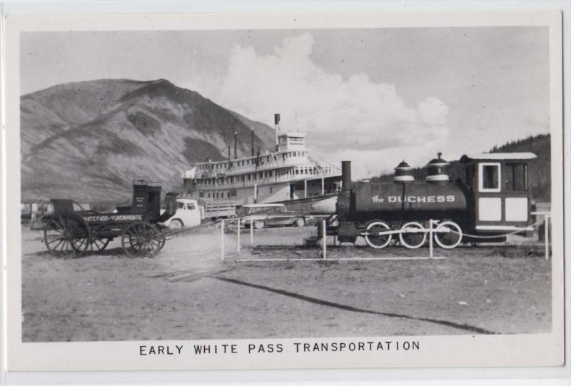 Early White Pass Transportation
